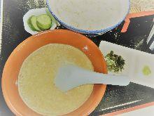 """Tororo"" grated Japanese yam set meal"