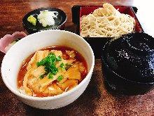 Yuba (tofu skin) ankake rice