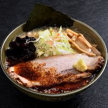 Extremely spicy miso ramen