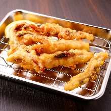 Squid tempura