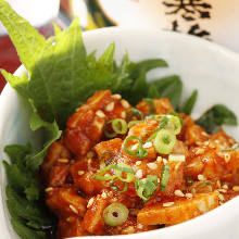 Chanja (Korean spicy marinated cod innards)