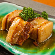 Simmered Berkshire pork belly