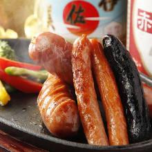 Assorted sausage, 3 kinds