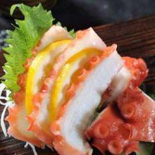北海道産 水蛸の刺身