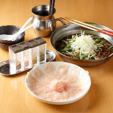 Chicken shabu-shabu