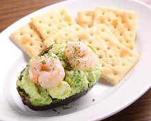Avacado and cheese salad