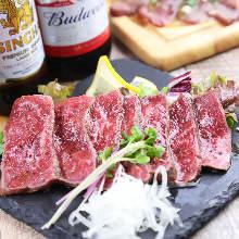 Wagyu beef carpaccio
