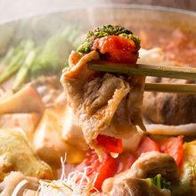 ■アンデス豚のトマト鍋