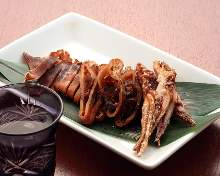 Dried whole squid