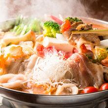 アンデス豚のトマト鍋