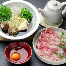 三重産 松阪牛 特上すき焼き
