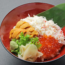 Tricolor rice bowl