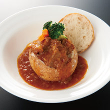Simmered beef