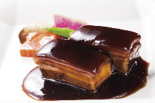 ◎特製黒酢の酢豚