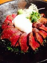 Wagyu beef rice bowl