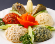 Assorted appetizers, 6 kinds