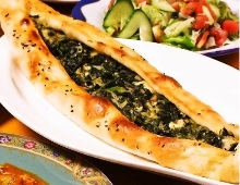Pizza (Spinach)