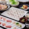 Sea Bream Shabu Shabu & Rice with Minced Sea Bream in Earthenware Pot Course