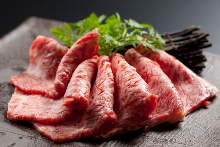 Premium Wagyu beef loin