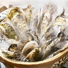 Oyster hotpot