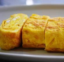 純系名古屋コーチンの卵を使ったあつあつ玉子焼き