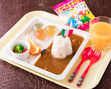 Kids' curry plate