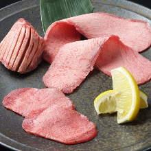 牛タン食べ比べ