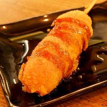 Fish sausage