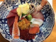 本鮪の海鮮丼