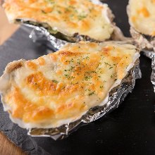 Oyster gratin