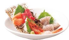 Assorted sashimi, 4 kinds