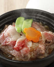 Nikujaga (simmered meat and potatoes)