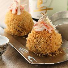 Crab cream croquette