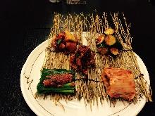 Assorted kimchi, 5 kinds