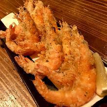 French fried shrimp