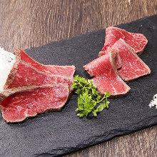 Seared wagyu beef