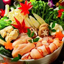 名古屋コーチンの濃厚鶏すき鍋