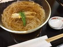 Sarashina buckwheat noodles