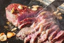 厚切り肉焼き