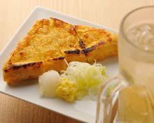Grilled deep-fried tofu