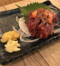 Horse outside skirt sashimi