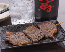 Charcoal grilled beef sirloin