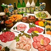4,500 JPY Course (12 Items)