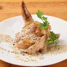 Grilled boned chicken