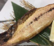 Grilled fatty mackerel