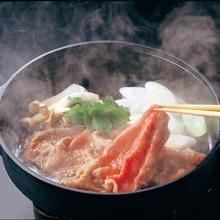 極上すき焼き(赤身)(すき焼き野菜一式、卵)