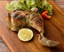 Chicken confit
