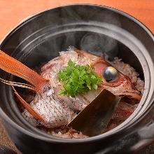 Donabe Gohan(rice in an earthen pot)