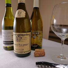 Glass Sparkling Wine / Red Wine / White Wine
