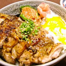 Seared specialty rice bowl